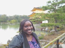 Me at Kinkakuji Temple in Kyoto