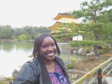 Me at Kinkakuji Temple in Kyoto