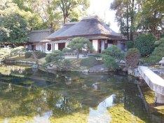 Garden next to Okayama Castle
